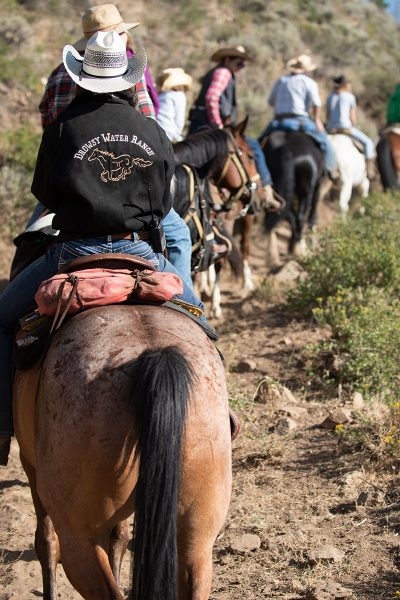 Drowsy Water Ranch wrangler trail ride